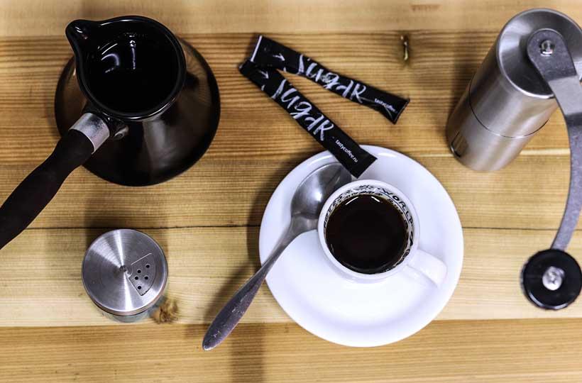 Как выбрать кофе для турки: сорт, помол, обжарка