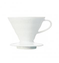 Воронка Hario- Пуровер (керамическая белая)