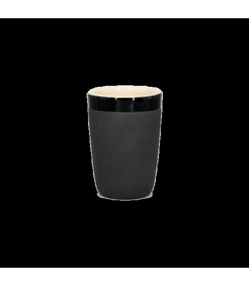 Чашка для латте Чистяков (черная)