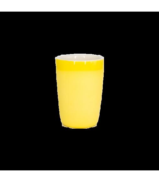 Чашка для латте Чистяков (желтая)