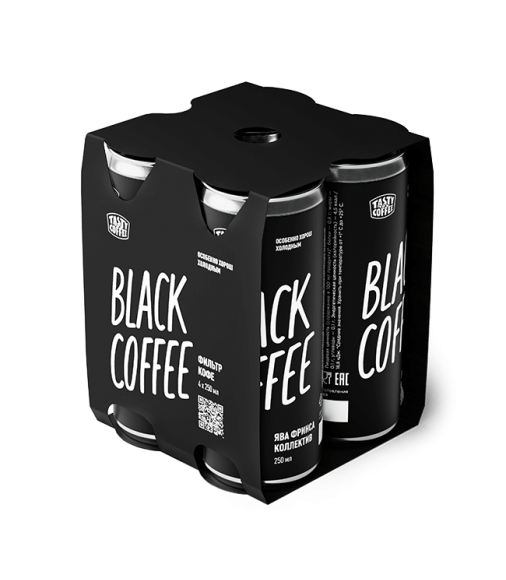 Кофе в банках Black Coffee