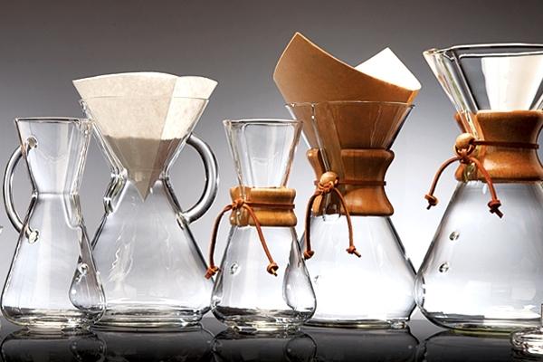 модели кофеварок кемекс